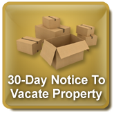 how to write a 30 day notice Which one is correct: lessee shall provide a 30 days written notice or a 30 day written notice does the use of the article (a) make a difference.
